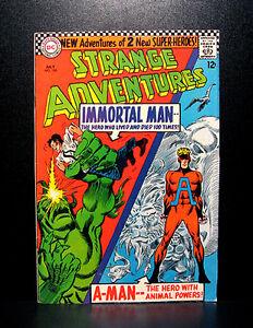 COMICS-DC-Strange-Adventures-190-1966-1st-Animal-Man-in-costume-RARE