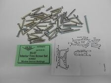 1955 1956 1957 Chevy #20-263A NOMAD Quarter Window Moulding SCREW SET New