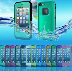 Dirtproof-Waterproof-Shockproof-Protective-Case-Cover-for-iPhone-5-5S-Grass-Blue
