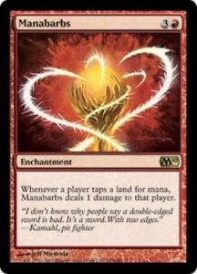 4-Manabarbs-Near-Mint-Magic-2010-M10-4x-x4-Playset-UltimateMTG-Magic-Red-Card