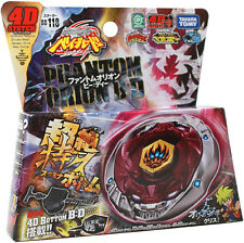 Takara Beyblade Metal Fusion Fury Bb118 4d Phantom Orion B:D Launcher