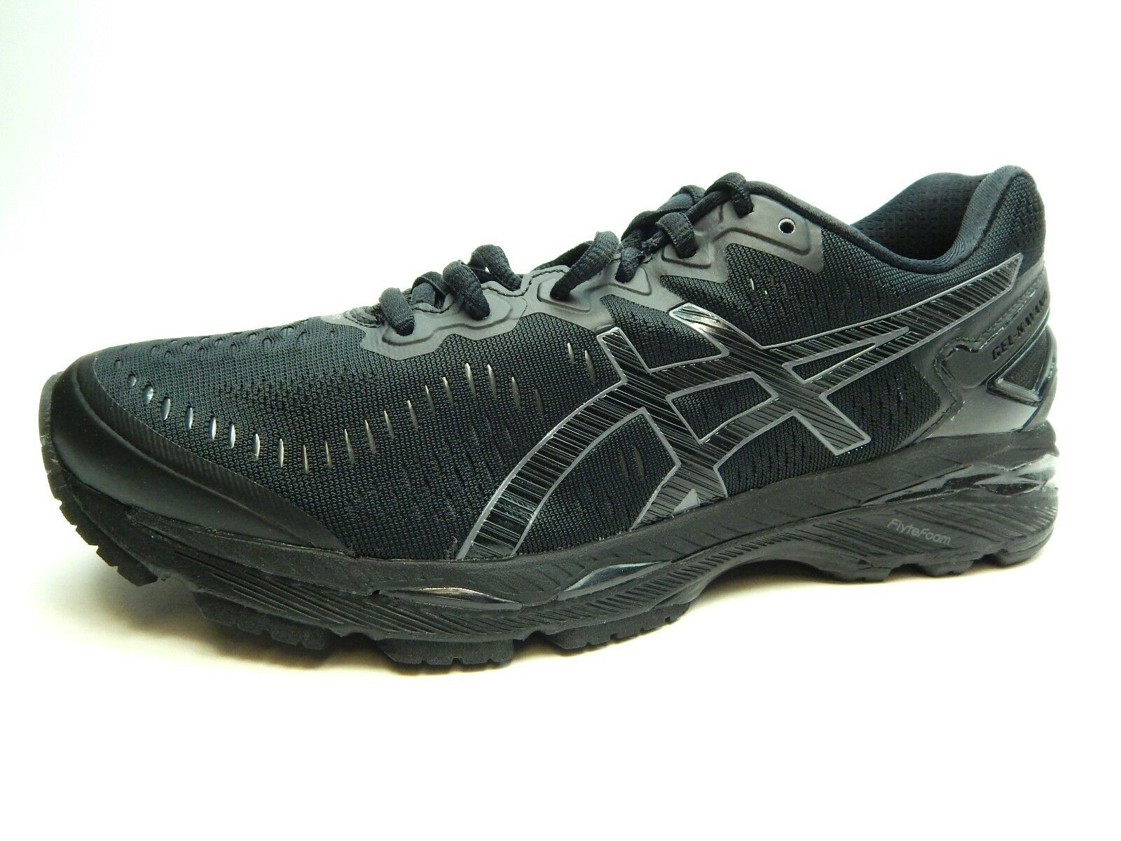 ASICS KAYANO 23 T646N 9099 Negro Onyx Carbono hombres zapatos y 8.5