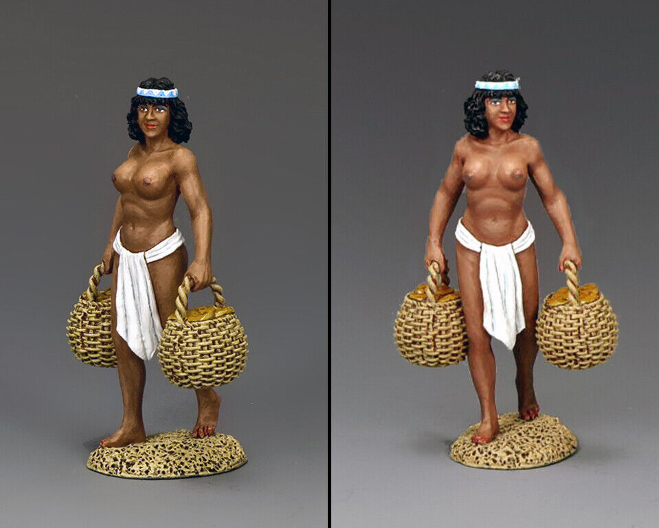 KING AND COUNTRY EGYPT Ethiopian Ethiopian Ethiopian Bread Carrier AE76 AE076 585