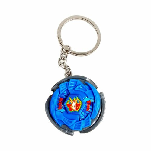 BEYBLADE metal fusion 3d toupie Blue porte cles clip porte clé Keychain