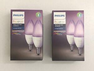 2-Boites-de-2-Philips-HUE-White-amp-Colors-Richer-Colors-E14-derniere-generation