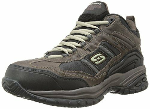 Skechers For Work Homme Relaxed Fit Soft Stride Canopy Comp Toe-Choisir Taille couleur.