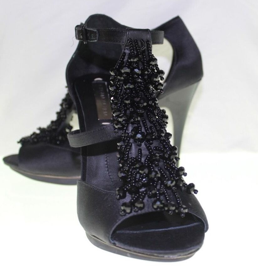 NEW WOMEN BCBG MAX AZRIA Estella Leather Sole shoes & Hells SZ 8 1 2 B  38 1 2