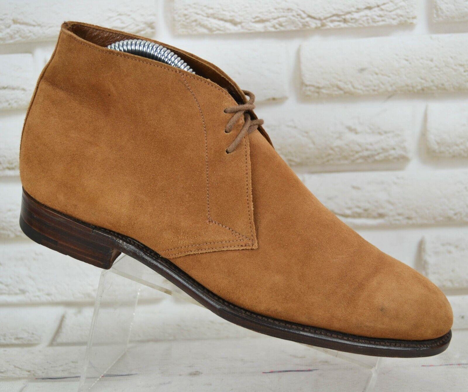 GRENSON damen braun Leather Ankle Stiefel Lace-Up schuhe ENGLAND Größe 5 UK 38 EU