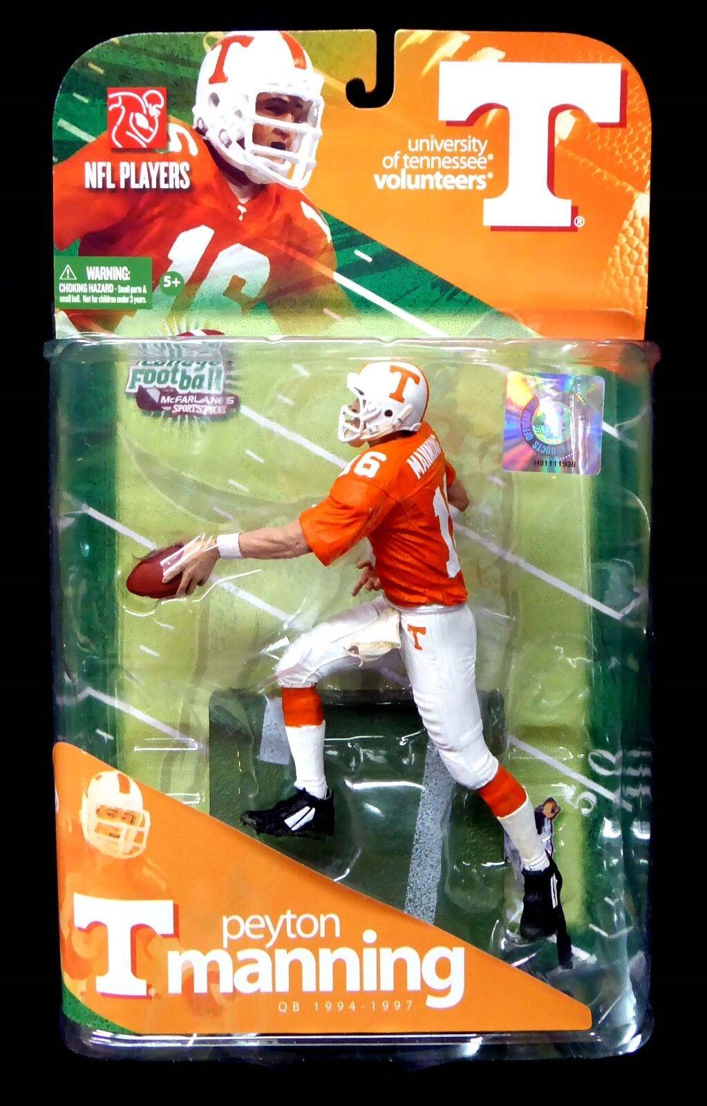 McFarlane Sports College NCAA Series 1 Tennessee Peyton  Manning Figure New 2009