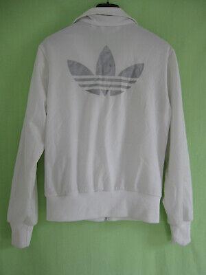 Veste Adidas Originals Trefoil argenté Femme Blanche vintage 38 | eBay