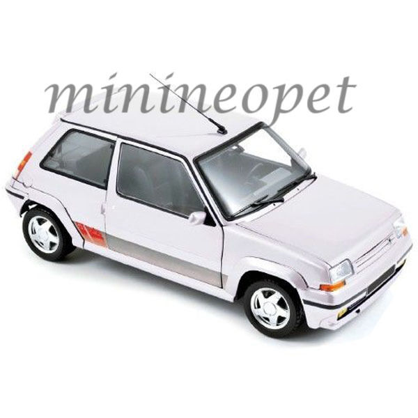 Norev 185206 1989 Renault supercinq GT Turbo ph II 1 18 Diecast Modelo Coche biancao