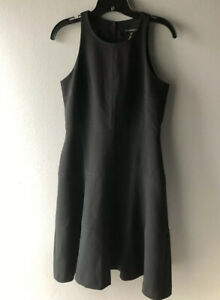 Banana-Republic-Racerback-Fit-amp-Flare-Dress-Petite-Black-4P-New-NWT