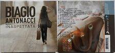 BIAGIO ANTONACCI INASPETTATA 2 CD 2010 COPERTINA APRIBILE  GATEFOLD