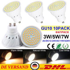 3W GU10 LED-Leuchtmittel Strahler Spotlight Lampe Licht SMD Spot 3W LED Warmweiß