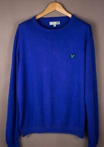 Lyle & Scott Herren Freizeit Pullover Sweatshirt Größe XL ASZ951