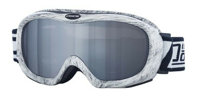 Dirty Dog Grey Ski Goggles Snowboarding Scope Flash Mirror Lens Unisex