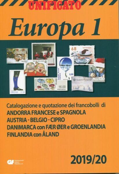 2019/20 Catalogo Unificato Europa 1