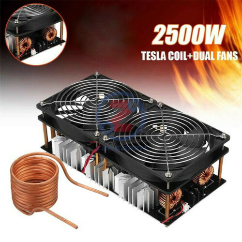 2500W ZVS Induction Heating PCB Board Module Flyback Driver Tesla Coil Inverter