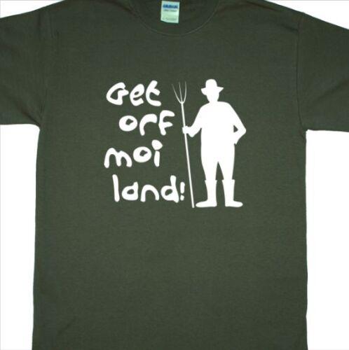 "/""Get Off My Land/"" Music Festival Hoodie Glastonbury, Hoody, Farmer, Pitchfork"