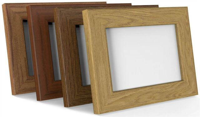 BLACK WHITE OAK TRADITIONAL PHOTO PICTURE POSTER FRAME 80mmWIDE PROFILE ALL SIZE