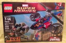 Lego 76016 Marvel Super Heroes -  Spider-Helicopter Rescue - Retired HTF