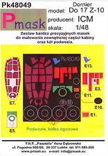 Model Maker 1/48 DORNIER Do-17Z-10 Bomber Paint Mask Set