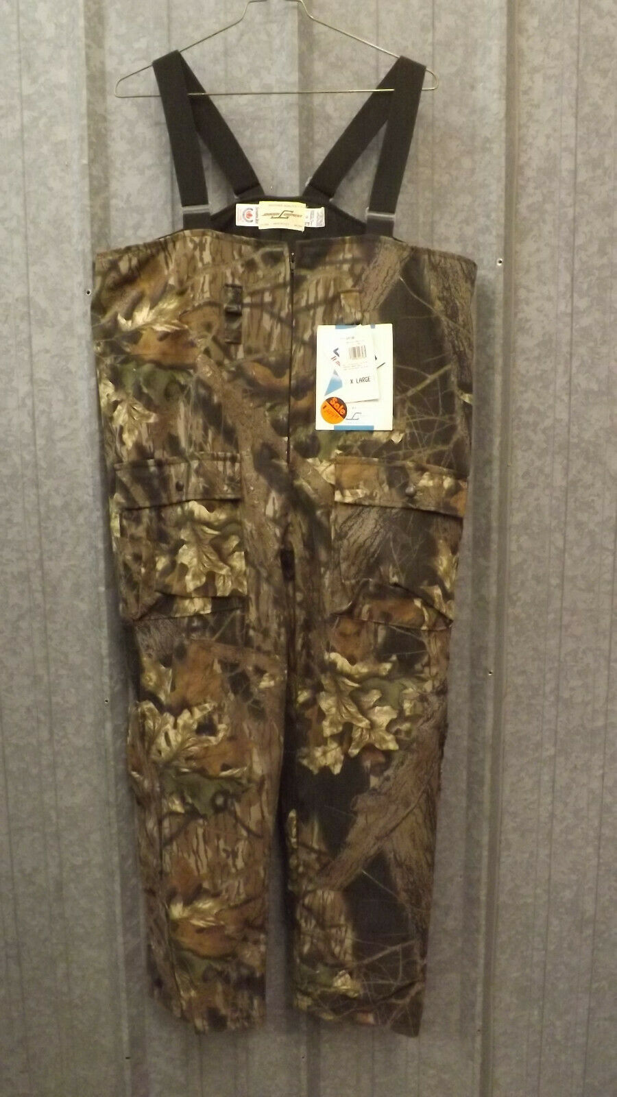 Mossy Oak, nuevo modelo break camo, bucle impermeable XL Johnson.