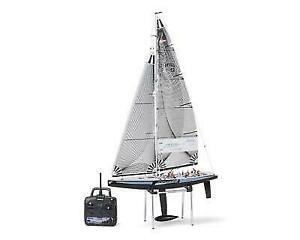 Kyosho 40042S 1/40 Scale Fortune 612 III RC Sailboat Boats & Watercraft Yacht RTR w/KT-431S Radio