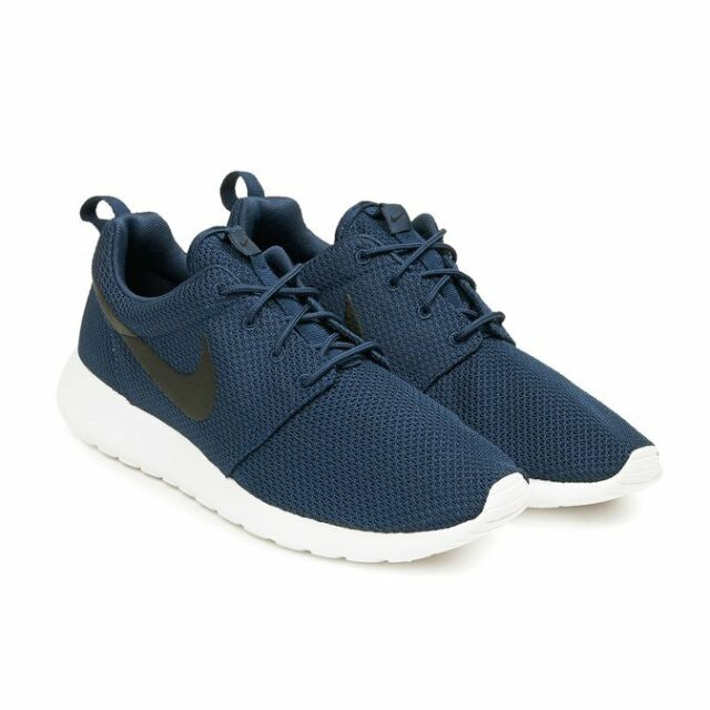 d0fac1e840 Nike Roshe One Sz 10 Midnight Navy Black White 511881 405 for sale ...