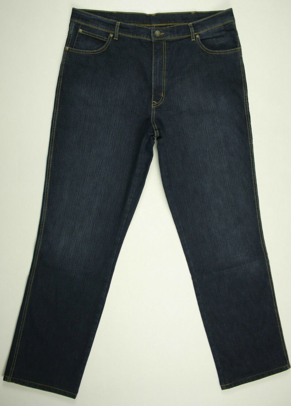 Wrangler Jeans 'REGULAR FIT DARK USED' Indigo W40 L32 EUC AS NEW RRP  Mens