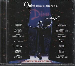 Quiet-Please-There-039-s-A-Diva-On-Stage-CD-Minnelli-Kitt-Lena-Horne-etc-14-tracks