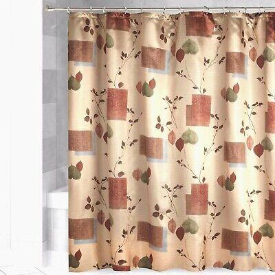 "Cabin Lodge Wilderness Wildlife Forest Fabric Shower Curtain W//Hooks 70/""x72-NEW"