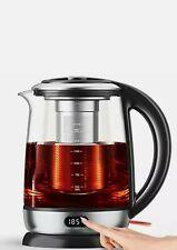 Aicook Electric Kettle 1.7L Glass Tea