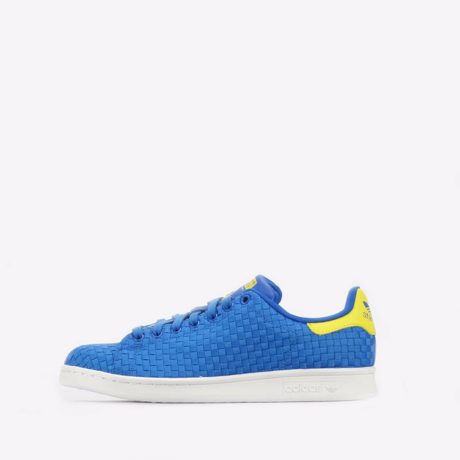 Adidas Originals Stan Smith Woven Men's shoes bluee Yellow