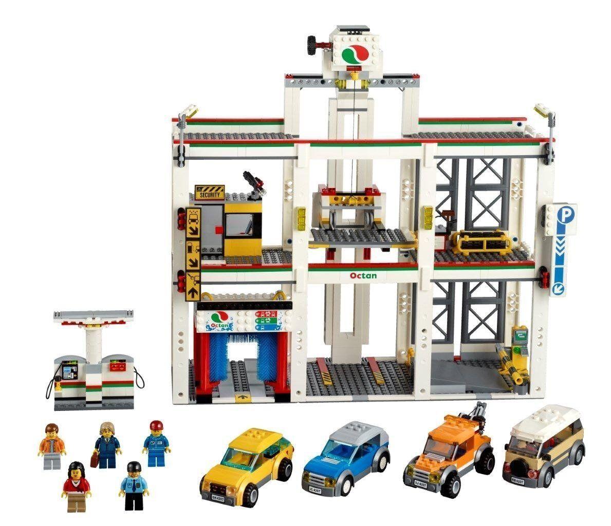 LEGO City - 4207 Große Werkstatt City Garage Autowerkstatt 100% komplett mit BA