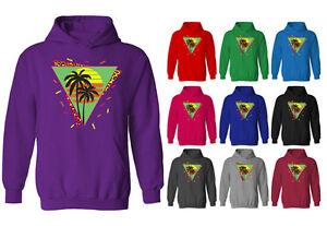 Aloha Palm Trees Sunset Hawaiian Pride Vacation Life 2-tone Hoodie Pullover