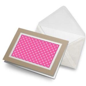 Greetings-Card-Biege-Pink-Stars-Design-Teenager-Girls-24022