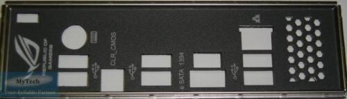 ASUS I//O IO SHIELD BLENDE BRACKET CROSSHAIR III FORMULA