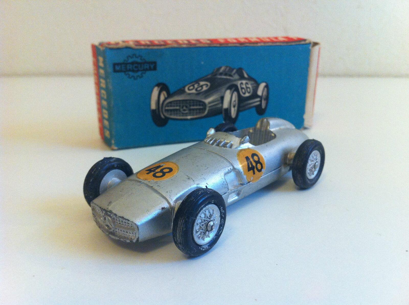 "Mercury - 55 - Mercedes Benz F1 W196 ""Flèche d& 039;Silber"" en boîte d& 039;origine (1 43)"