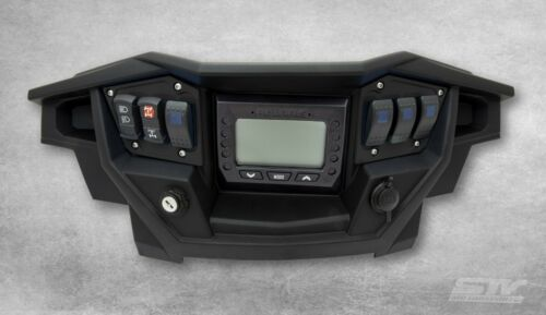 2017 Polaris RZR XP 1000 Turbo Black Dash Switch Panel