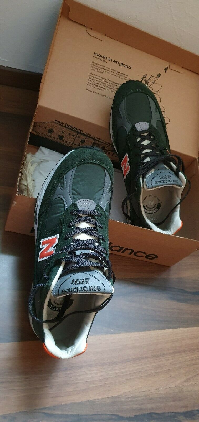 New balance 991 Made In England Gr.45