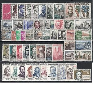 Timbres-France-neufs-Annee-1957-complete