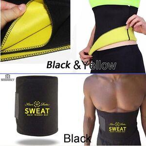 Waist-Trimmer-Fitness-Wrap-Belt-Slim-Burn-Fat-Sweat-Weight-Loss-Body-Shaper-NIh