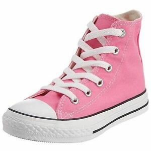 Sneakers Converse Hi Chuck 3j234 Pink Unisex All Taylor Details About Kids Top Canvas Star gb6f7yY
