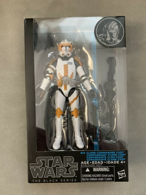 Star Wars Black Series  Clone Commander Cody 6 Inch Figure Hasbro B1116AS0