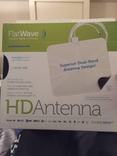 Winegard FlatWave FL5000T Indoor HDTV Antenna New!!!