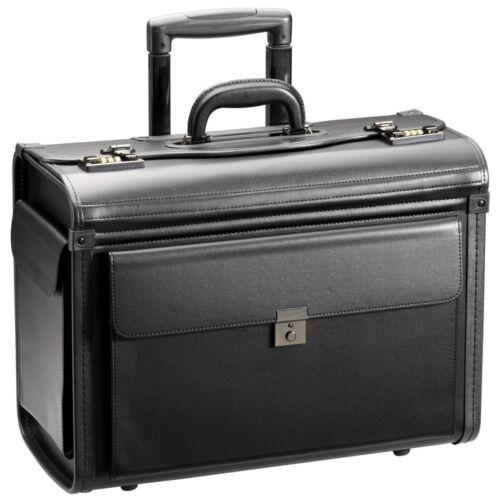 d/&n Business /& Travel 2-Rollen Pilotenkoffer Trolley 48 cm schwarz