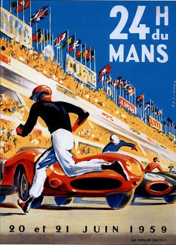 Best Auto Deals >> Classic motor racing posters collection on eBay!