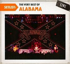 Setlist: The Very Best of Alabama Live [Digipak] by Alabama (CD, Jul-2010, Legacy)