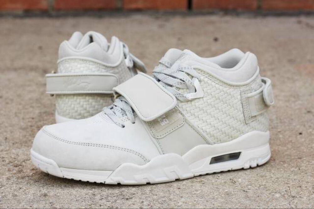 Men's Nike Air TR V. CRUZ Sneaker Boot 777535-003, UK6.5 Light Bone Light Bone-